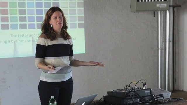 "Amy Whitaker ""The Letter and The Envelope"" – Brooklyn Commune Keynote Presentation, May 12, 2013"