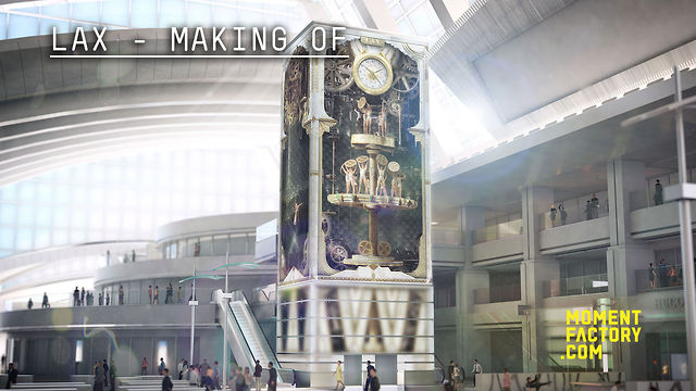 Moment Factory making-of: LAX new terminal, the largest immersive system in an airport