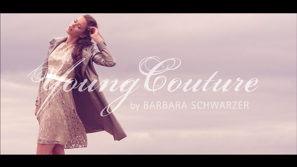 YoungCouture by Barbara Schwarzer - Spring / Summer 2014 video