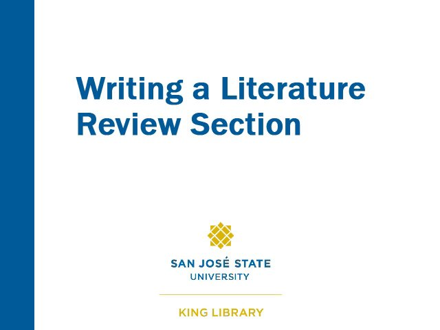 Review of literature on