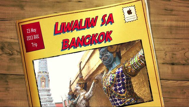 Trip to Bangkok Thailand