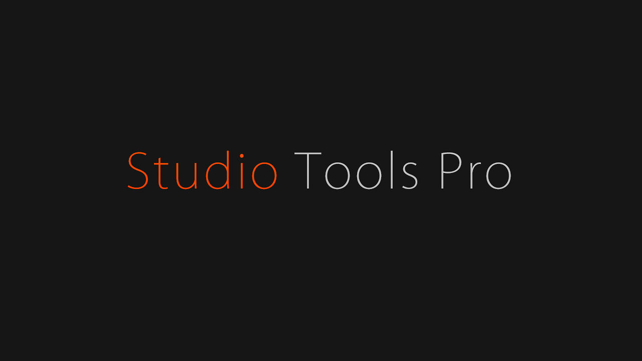 Studio Tools Pro for CINEMA 4D