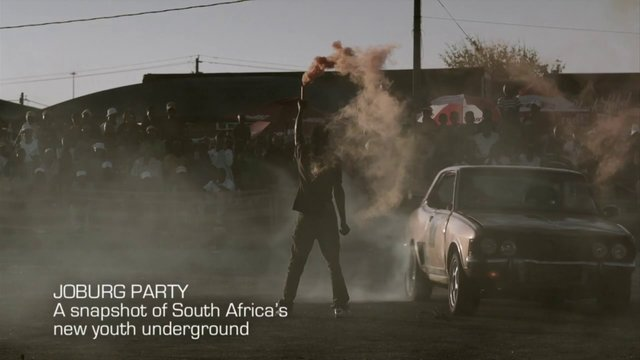 JOBURG PARTY! A snapshot of South Africa's new youth underground