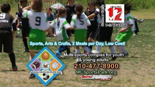 Summer Camps at Mission Concepcion Sports Park, San Antonio