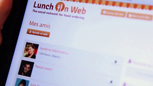 Lunch On Web / version FR