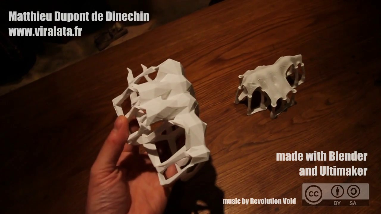 Architectural 3D Print : timelapse from the idea to the print