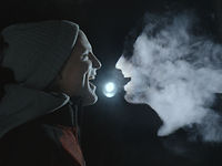 Stunning Video Is Animated With Nothing But Light And Freezing Breath