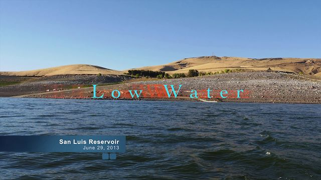 Fly fishing low water conditions at san luis reservoir on for San luis reservoir fishing