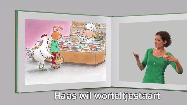 Haas wil worteltjestaart