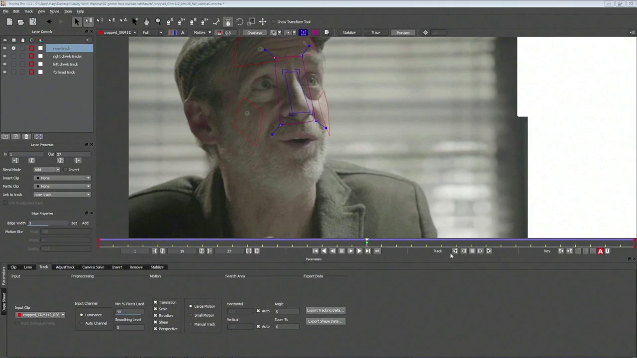 Webinar: Digital Makeup & Retouching with Mocha and Adobe After Effects