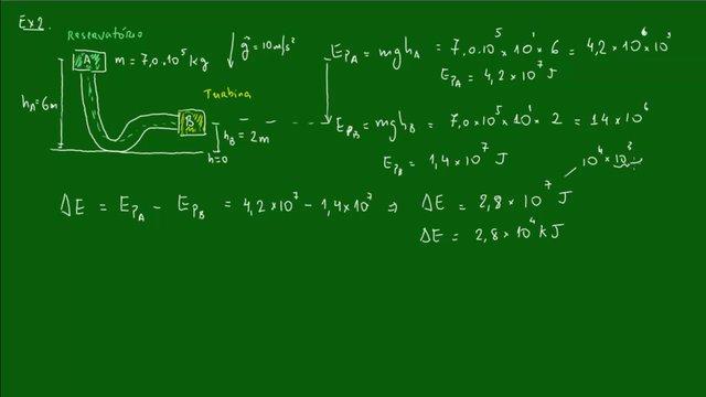 12 - Energia Potencial Gravitacional - Exemplo on Vimeo