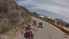 Downhill Skateboard Racing: Angie's Curves 2013