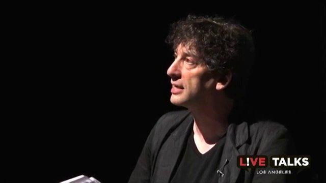 Neil Gaiman at Live Talks Los Angeles