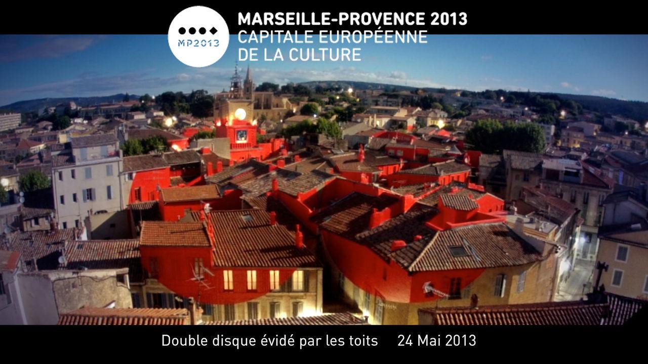 Felice varini salon de provence marseille provence capitale europ enne culture 2013 on vimeo - Marseille salon de provence ...