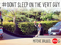 #Dont Sleep On The Vert Guy, Mitchie Brusco Almost 5-Incher