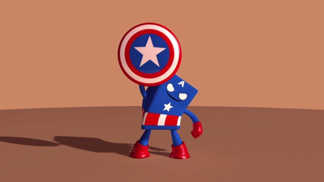 Captain America - animation Study
