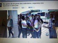 Globo impede cobradora de expor máfia dos transportes