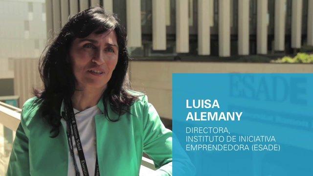 Luisa Alemany, Directora del Instituto de Iniciativa Emprendedora de ESADE