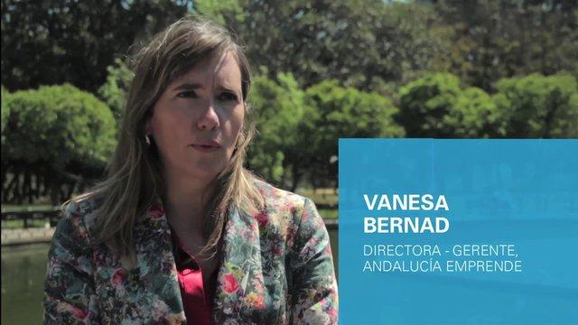 Vanessa Bernad, Directora Gerente de Andalucía Emprende