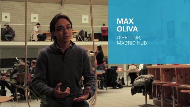 Max Oliva, Director de HUB Madrid