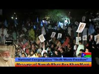 Sindh Wants Freedom; Congregation; Message of Nawab Khair Bux Marri