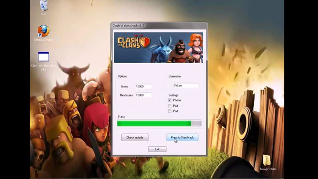 clash of clans hack no survey no password no jailbreak