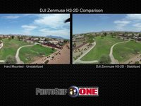 DJI GoPro Zenmuse H3-2D Comparison - CarbonCore Hexacopter