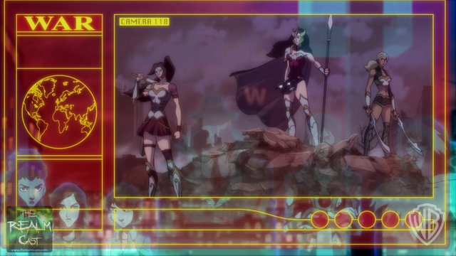 Wonder Woman Justice League Flashpoint Paradox