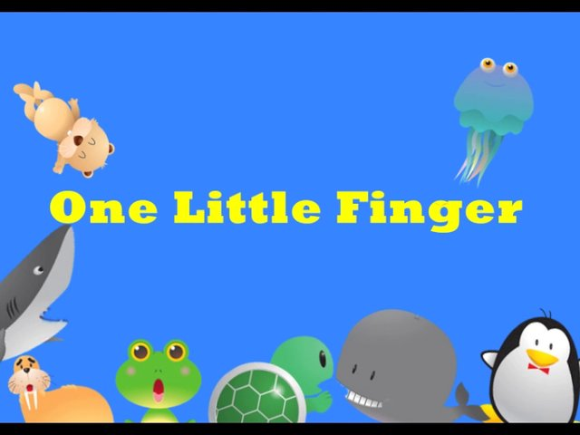 one little finger(年長さん)