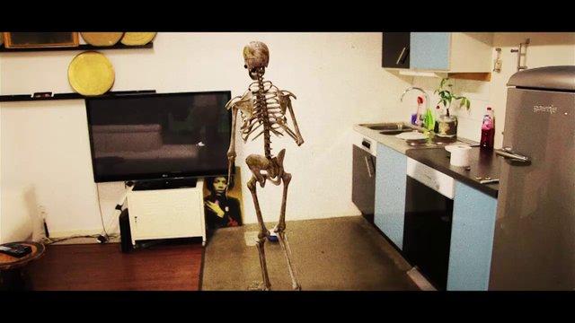Skeleton mocap test