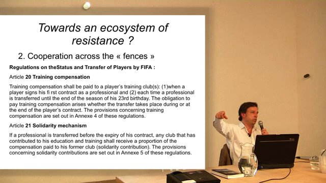 Towards an eco-system of resistance, by Alain Servais