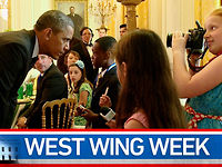 "West Wing Week: 07/12/13 or ""Bring It On Brussels Sprout Wrap!"""