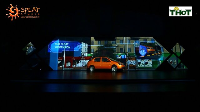 TATA Motors Horizonext 3D Car Projection Mapping