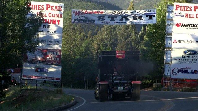 Pikes Peak 2013 Banks Super Turbo Race Semi Gymkhana Drift Truck Size Matters