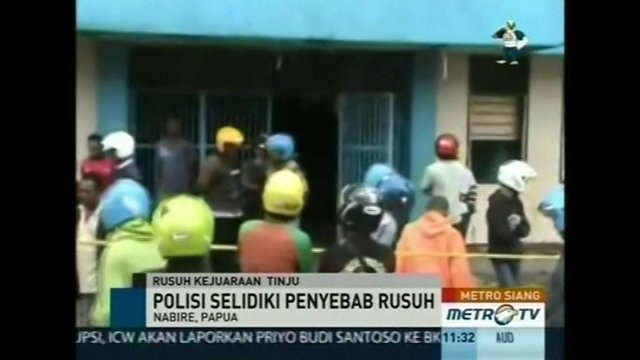 At least 18 people are killed in a stampede at a boxing match in Indonesia's most eastern province. - Video by Reuters