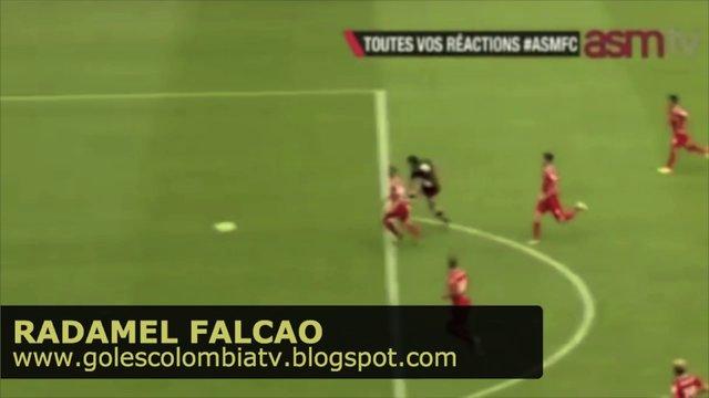GOL! Radamel Falcao - Fortuna Dusseldorf 3 Mónaco 2 (14/07/2013)