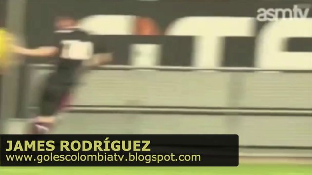 GOL! James Rodríguez - Fortuna Dusseldorf 3 Mónaco 2 (14/07/2013)