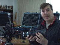 Adaptador Canon FD-NEX turbo lens Full Frame speed booster + NEX-FS700