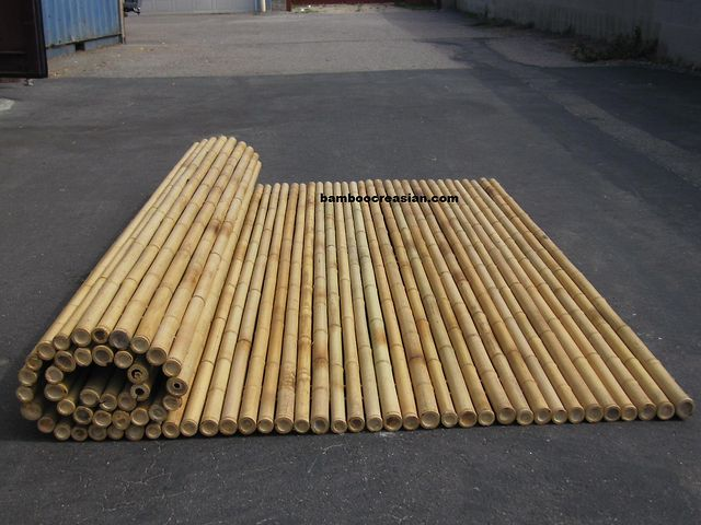 how to make pvc look like bamboo