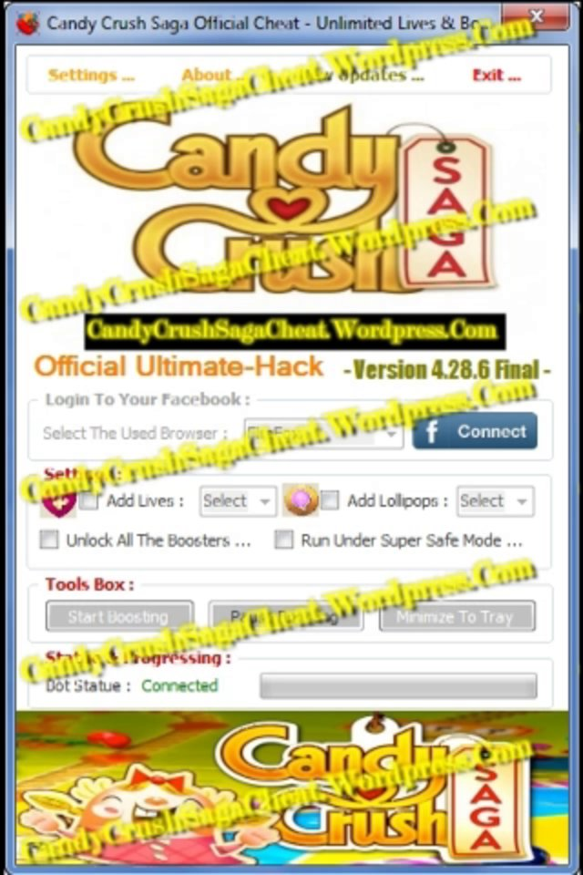 Candy Crush Saga App Cheats, Get Free Boosters Cheat On Candy Crush