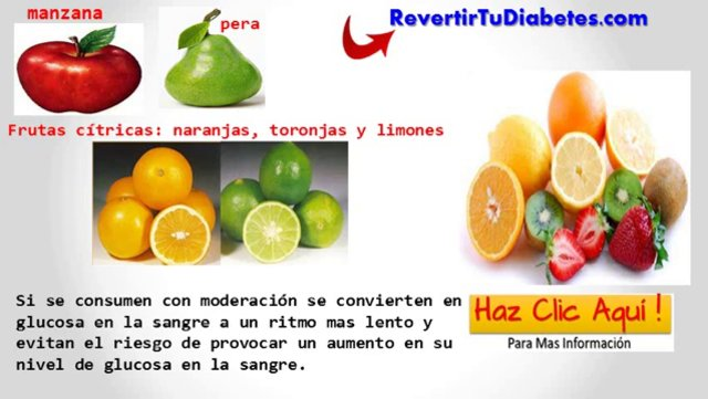 Frutas Para Diabeticos ! Frutas Recomendadas Para Tu