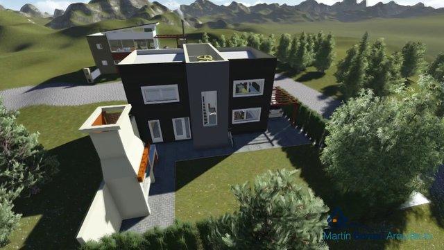 Planos de casas modernas proyecto de arquitectura san - Casas arquitectura moderna ...