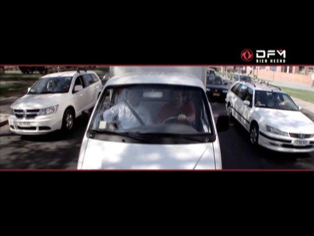 Spot que invita a conocer en un documental en la web, el desaf�o de rendimiento al que fueron sometidas las camionetas DFM.
