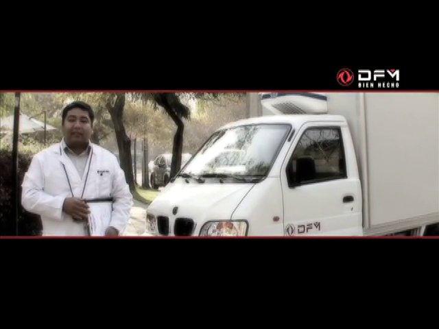 Spot que invita a conocer en un documental en la web, el desaf�o de refrigeraci�n al que fueron sometidas las camionetas DFM.