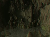 Cave Interior (Anaglyph)
