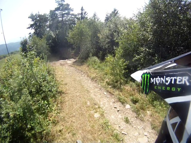 Przejazd downhillowy, Żar 2013