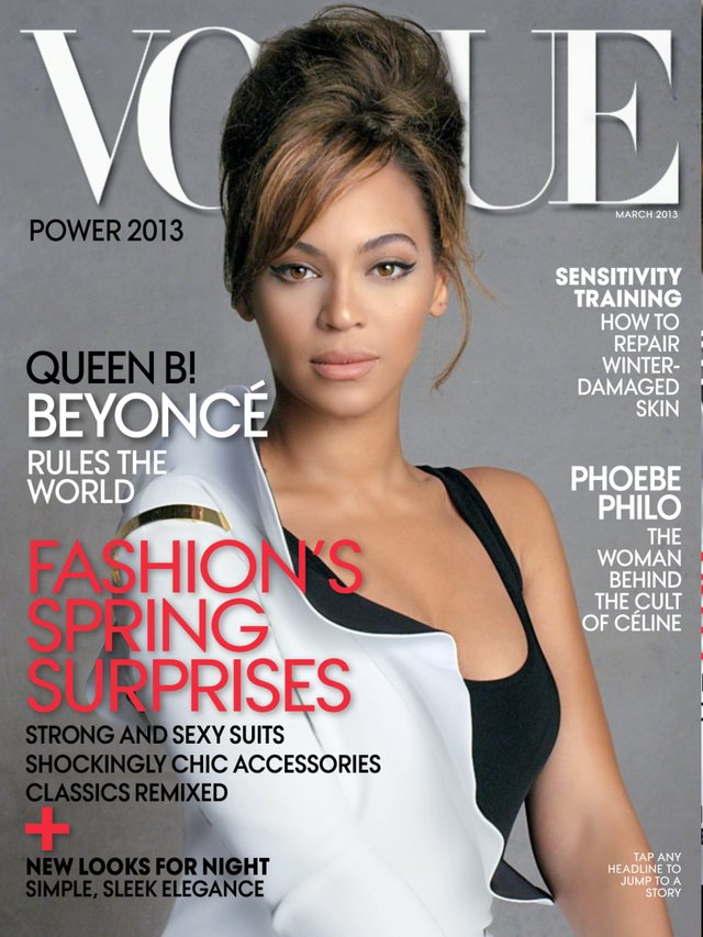 vogue motion cover beyonce march 2013 on vimeo