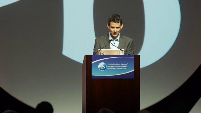 IB Americas Conference 2013, Day3: Keynote, Cristobal Cobo