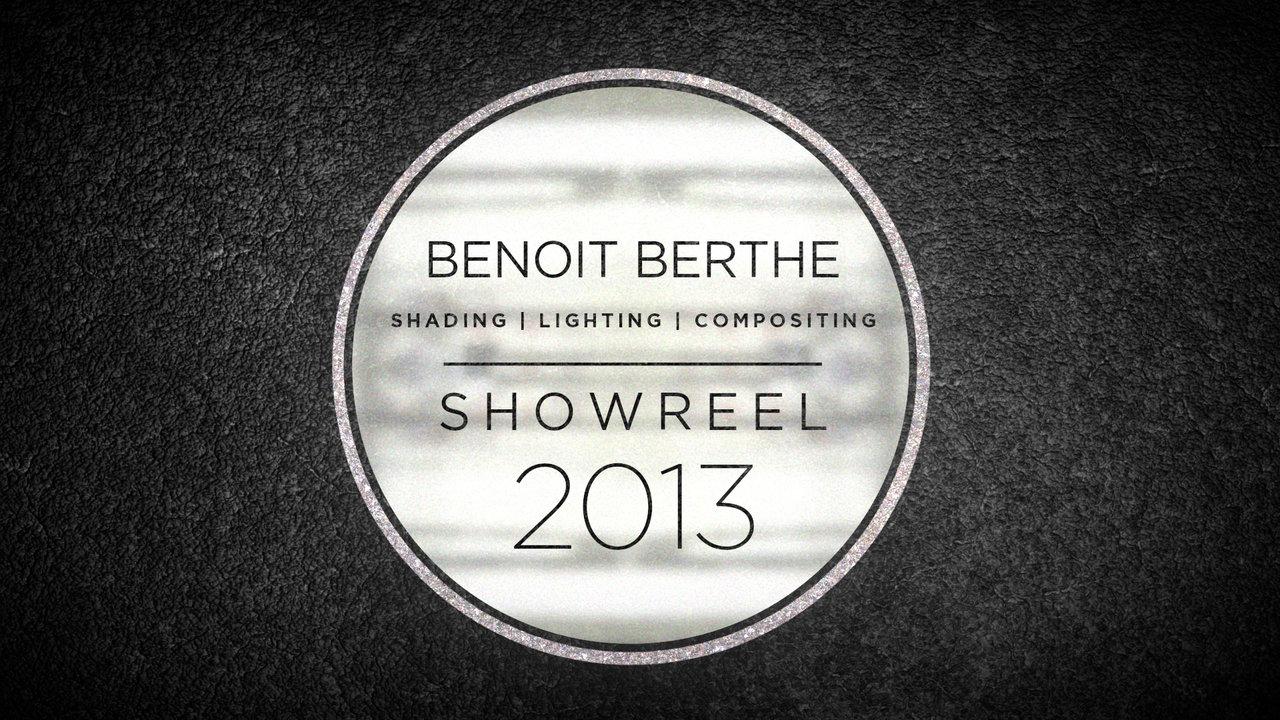 Showreel 2013 - Benoit BERTHE (Siward)