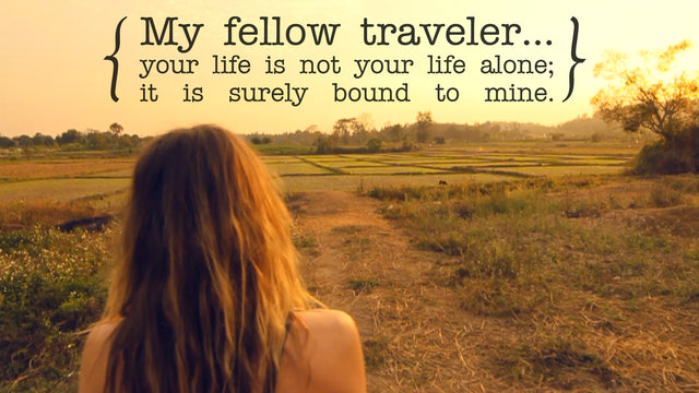 Travel With Us :: A Short Visual Poem